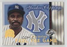 2000 Fleer Greats of the Game Yankees Clippings DAWI Dave Winfield New York Card