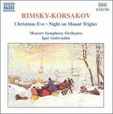 Rimsky-Korsakov: Christmas Eve / Night on Mount Triglav, New Music
