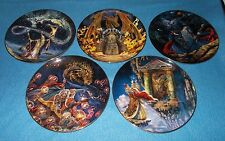 ROYAL DOULTON COLLECTORS PLATES DRAGON / WIZARD / MYTHICAL THEME  CHOOSE PLATE