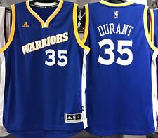 KEVIN DURANT GOLDEN STATE WARRIORS CROSSOVER 2016-17 NBA SWINGMAN JERSEY NEW