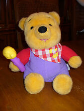 Disney Winnie the Pooh Plush Talks and Wiggles Nose