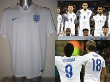 England Nike Team Jersey Football Soccer BNWT NEW GERRARD LAMPARD KANE ALLI Top