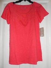 Beautiful Crochet Front Top NEW BY Allyson Whitmore Size Small