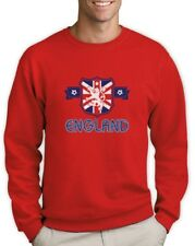 ENGLAND Flag Sweatshirt UK National Team Soccer Football Women World Cup 2015