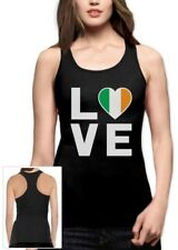 I Love Ireland - Irish Pride Flag of Ireland Gift Idea Racerback Tank Top Gift