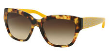 BRAND NEW COACH HC8139 L110 BUTTERFLY SUNGLASSES TORTOISE-YELLOW