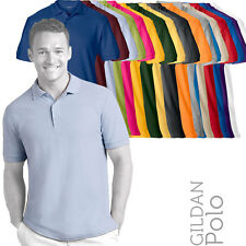 (Pack of 5) GILDAN 85800 Mens Premium Cotton Combed Ringspun Polo Shirt (18 Col)