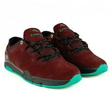 Emerica Brandon Westgate Burgundy BMX Skate Shoes