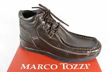 Marco Tozzi Men's Boots Lace up Boots Boots Winter Boots brown leather new