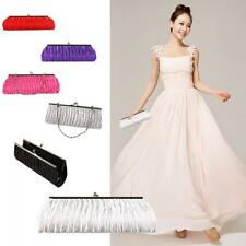 Party Wedding Clutch Purse Pleated Handbag Evening Bag