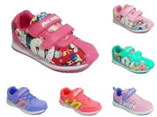 Girls Trainers Casual Sneaker Pumps Sport Athletic Flat Balance Travel Shoe Size