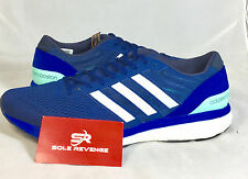 10.5 New adidas ADIZERO BOSTON 6 Boost Shoes Blue White ultra pure energy BA7933
