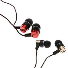 Roping Stereo Earphone Earbud Ear Headphone Chic Subwoofer MP3/Mp4 Metal 3.5mm