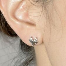 Color Women Jewelry Stud Earring Cute Earring Eardrop Tiny Fox Head Ear Stud