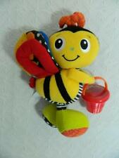 Infantino Bumble Bee Baby Plush Toy Activity Rattles Teether Sensory Textures