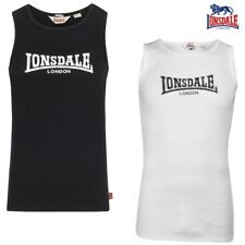 Lonsdale Men'S Tank Top Galaxy Singlet Tank Top Muscle Shirt Fitness Gym S - 3XL