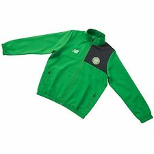 New Balance Childrens Kids Football Celtic Training Presentation Jacket - Green