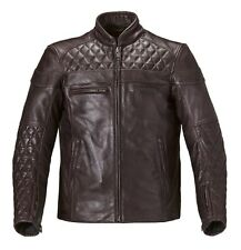 Mens Triumph Andorra Leather Motorcycle Jacket