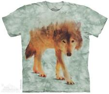FOREST WOLF ADULT T-SHIRT THE MOUNTAIN