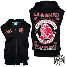 West Coast Choppers Vest Chapel Sleeveles Vest Sweater Jesse James NEU