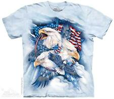 """EAGLE """"ALLEGIANCE"""" ADULT T-SHIRT THE MOUNTAIN"""
