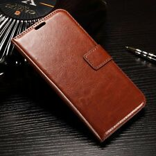 Luxury Leather Case Magnetic Flip Card Wallet Cover For Various Mobile Phones R