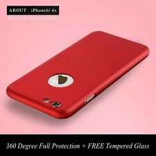 Colorful 360 Degree Full Protection Hard Case Cover For Apple iPhone 6 6S Plus
