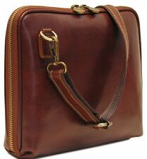Floto Imports Luggage Roma Tablet Bag Italian Calfskin Leather