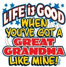 Great Grandma Life kid Tshirt Toddler Onesie Infant Baby Shower boy girl US Size