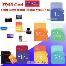 Ultra Micro SD Flash Memory Card SDHC SDXC Class10 80m/s Adapter 32/64/128GB CA