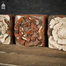 Decorative 19th C Red Rose Bricks – 30 Available