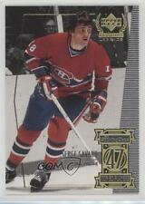 1999 Upper Deck Century Legends #47 Serge Savard Montreal Canadiens Hockey Card