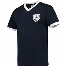 Score Draw Retro Mens Gents Football Tottenham Hotspur 1962 Away Shirt No 8