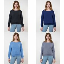 American Apparel Womens/Ladies Lightweight Tri-Blend Pullover Sweater/Jumper