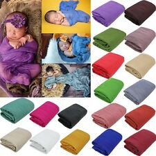 Cheesecloth Newborn Baby Wrap Maternity Cotton Swaddle Photo Photography Prop