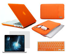 Screen protector keyboard cover sleeve pouch Hard case For Apple macbook Pro Air