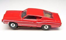 HO DETROIT FORD TORINO - HO Slot Car - MINT - NOS - RED METALLIC