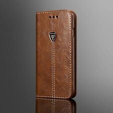 Luxuly Leather Case Magnetic Flip Card Wallet Cover Holder For iPhone Samsung  N