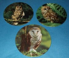 WEDGWOOD OWLS COLLECTORS PLATES THE NIGHT WATCH SERIES - CHOOSE PLATE