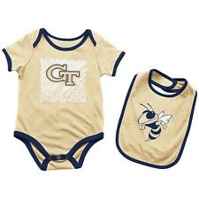 Georgia Tech GT Infant Look at the Baby Onesie and Bib Set