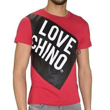 T SHIRT LOVE MOSCHINO RED LOGO LOVE CHINO