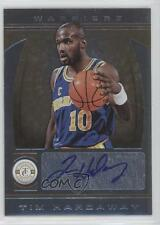 2013-14 Totally Certified Signatures Gold #257 Tim Hardaway Auto Basketball Card