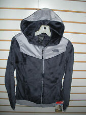 THE NORTH FACE WOMENS OSO HOODIE FLEECE JACKET-#C660- GREYSTONE BLUE - S -NEW