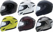 GMax GM54S Modular Helmet with Flip Up Shield and Built In LED Light