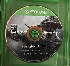 The Elder Scrolls Online Tamriel Unlimited Microsoft Xbox One 2015 Disc Only