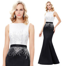 Long Formal Party Cocktail Evening Dress Prom Wedding Celebrity Mermaid Gowns