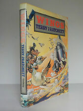 Terry Pratchett - SIGNED BOOK - Wings - 1st Edition - 1990 (ID:631)