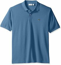 Lacoste Short Sleeve Classic Chine Fabric L.12.64 Original Fit Polo - Mens