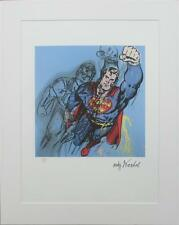 Andy WARHOL lithograph Superman limited edition 1251/5000