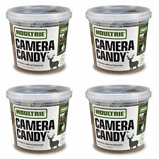 Moultrie Camera Candy Game Deer Attractant w/ Cam Strap, 3.25-lb Block (4 Pack)